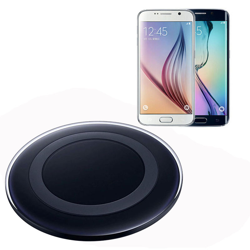 Wholesale Hot selling Wireless Charger Charging Pad for SAMSUNG Galaxy S6 G9200 S6 Edge G9250 G920f Support all smart phones(China (Mainland))
