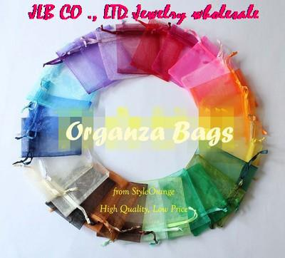 100 4x6 Organza Wedding Party Favor Candy Chocolate Wraps Gift Bag Jewelry Pouch(China (Mainland))