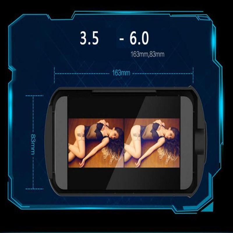 ถูก แบรนด์ใหม่VRกล่องเล่นE Dition 3Dชุดหูฟังความเป็นจริงเสมือนกับโทรศัพท์มือถือบลูทูธแว่นตาของขวัญคริสต์มาสฟรี