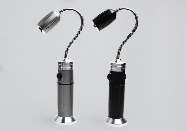 With Magnet Charging LED Flashlight Automobile Working Lamp Machine Tool Lamp Maintenance Lamp Focusing Flashlight(China (Mainland))
