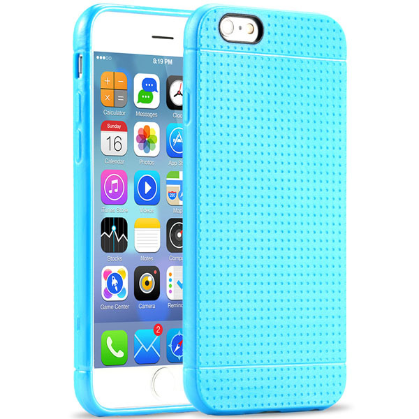 iPhone 6 4.7 inch Back Case Fashion Honeycomb Dot Style Soft Silicone Cover 6S / Mobile Phone Accessories - Three-A Group Co.,Ltd store