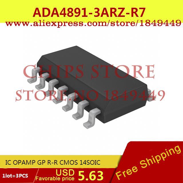 Бесплатная Доставка Регулятор Напряжения ADA4891-3ARZ-R7 IC ОПЕРАЦИОННЫЕ УСИЛИТЕЛИ GP R-R CMOS 14 SOIC 4891 ADA4891 3 ШТ. ada 14 revers