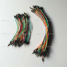 15cm Jump Wire Cable Male to Male Jumper Wire For Arduino Breadboard 40pcs/lot Free Shipping & Drop Shipping(China (Mainland))