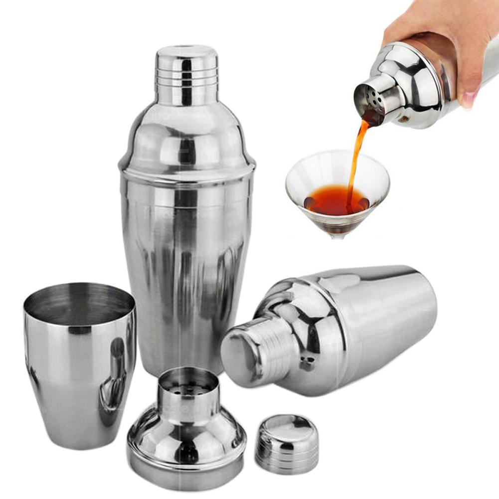 New Stainless Steel kitchen accessories Cocktail Shaker Wine Beverage Mixer E2shopping(China (Mainland))