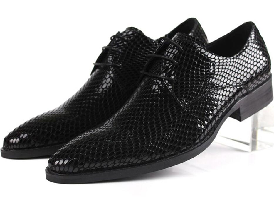 2015 cool serpentine formal mens dress shoes genuine