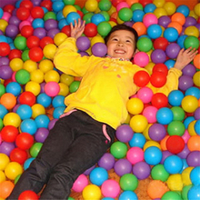 New 100 pcs Beauty Plastic Ocean Ball Pool Color Mixing Soft Round Balls For Kids Y880-B(China (Mainland))