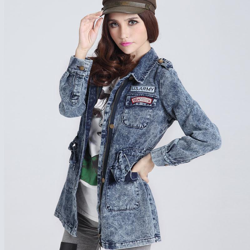Jean Jacket women coats 2016 new winter fashion european ...