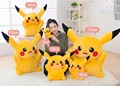 1 Piece Hot Sale 100cm Giant Pikachu Plush Toys Very Cute Plush Toys Animal Doll For