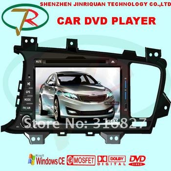 HOT SALE 2 DIN SPECIAL car DVD player FOR KIA K5 OPTIMA  with  GPS NAVIGATION