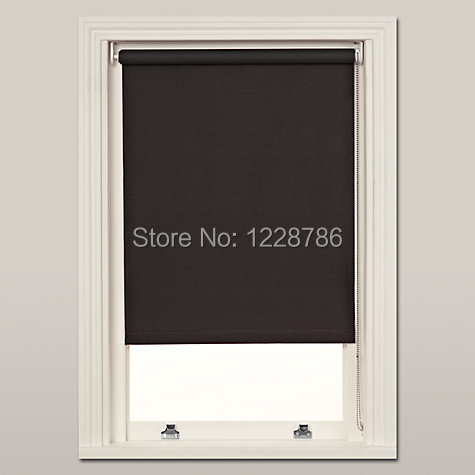 Motorized 100 Blackout Roller Blinds Custom Made Size 100cm X 100cm Free Shipping In Curtains