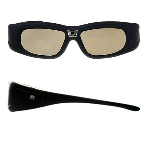 New Hot 3 x DLP Link 3D Active Shutter glasses for BENQ Acer Vivitek D510 View Sonic Optoma SHARP projector Beamer(China (Mainland))
