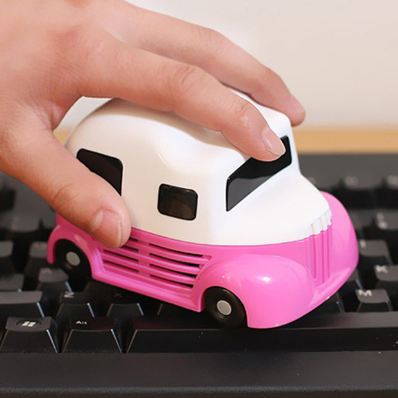 New Fashion Mini Car molding Vacuum Cleaner Dust Collector For Computer PC Desktop Keyboard Cleaning Brush(China (Mainland))