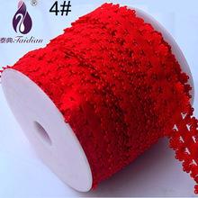 "Elastic Mesh Nylon Stretch Lace Trim , 10Yards/Roll 3/4"" 20MM DIY elastic lace fabric elastic lace fabric(China (Mainland))"