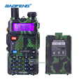 BaoFeng UV 5R Military Walkie Talkie Dual Band VHF UHF Handheld Ham Radio Communicator Portable 2