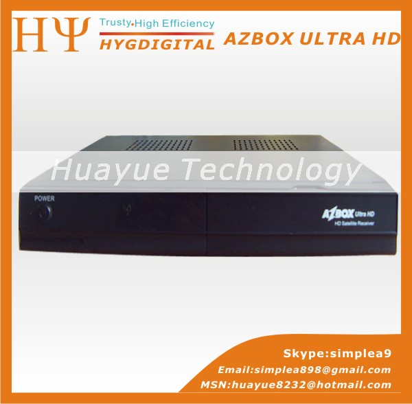new Original Satellite receiver hd Full HD AZBOX ULTRA comes with fully covered Multimedia moduleng 1(China (Mainland))