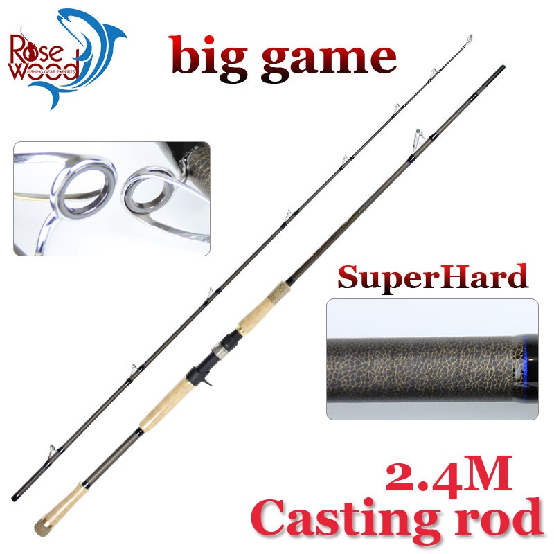 2 4m xm prower casting fishing rod for big game super hard for Fishing rod game