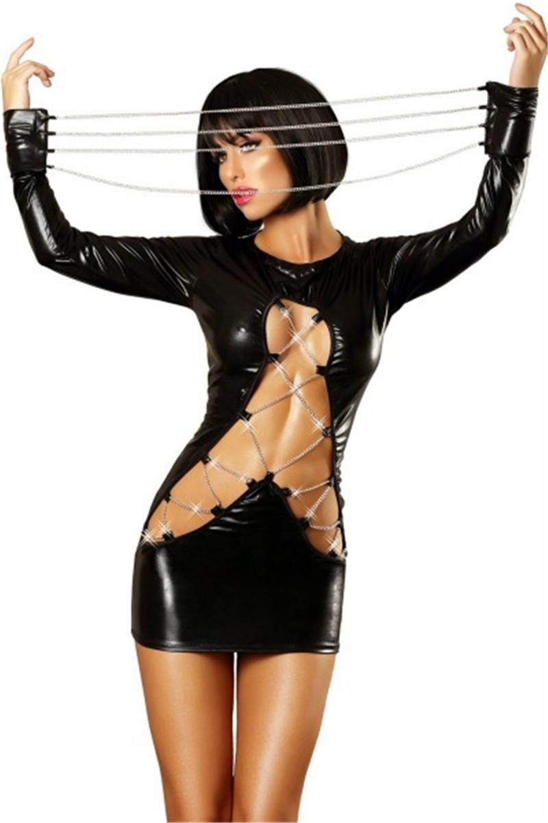 Секс в костюме из латекса 14 фотография