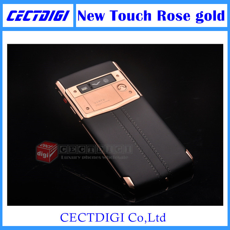 2016 New updated Luxury phone rose gold Signature Touch Android 5.1 4G FDD/TD LTE Octa core MTK 6592 13MP camera VIP phone(China (Mainland))
