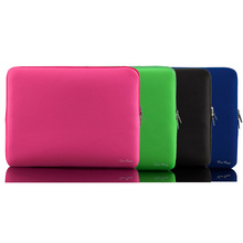 "Portable Light Weight Zipper Soft Sleeve 11 inch Laptop Bag Case for MacBook Air Ultrabook Laptop Notebook 11.6"" 11.6 inch(China (Mainland))"