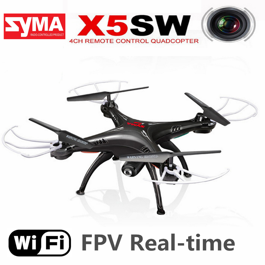 Original SYMA X5SW WIFI RC Drone FPV Quadcopter with Camera Headless 6-Axis Real Time Helicopter Quad copter Toys Flying Dron <br><br>Aliexpress