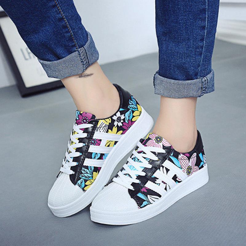 zapatillas superstar de mujer