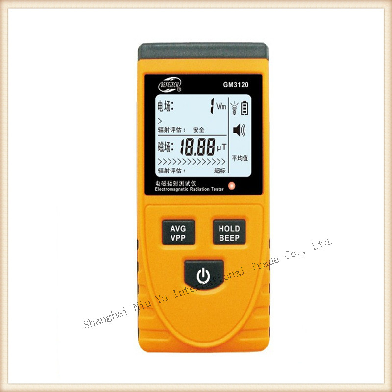 LCD displays Electromagnetic Radiation Tester Measure Air conditioners, mobile phones, computer monitors Magnetic Field Tester<br><br>Aliexpress