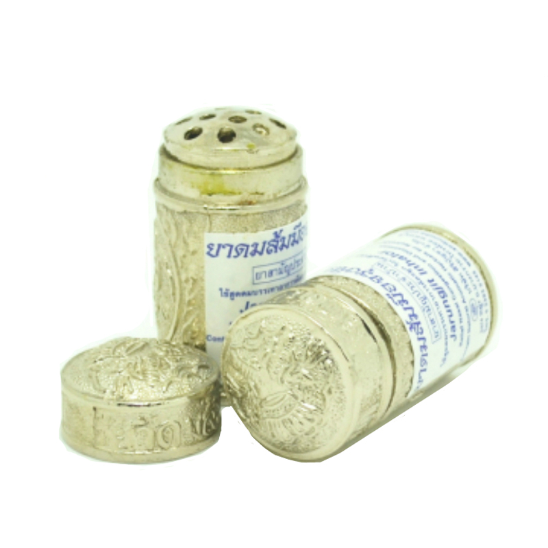 Thailand Imperial family Mint Cylinder Nasal Inhaler Refreshing Brain Anti Fatigue Cure stuffy nose Runny Nose quit smoking aids