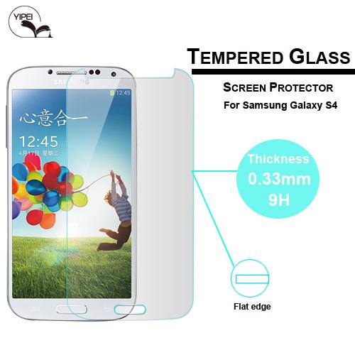 Гаджет  0.33mm Premium Explosion-proof Anti-scratch For Samsung Galaxy S4 i9500 Tempered Glass Screen Protector Film Free Shipping None Телефоны и Телекоммуникации