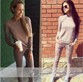 Tracksuits Real Polyester Full None O neck Drawstring The New 2017 Suit Women Fashion Contracted Fleece