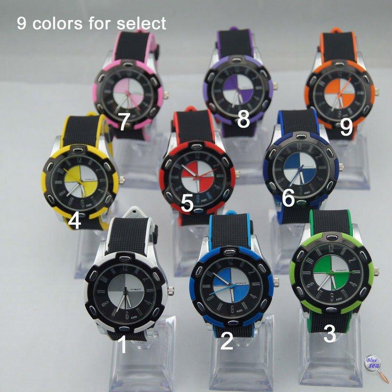 100pcs/lot Free shipping quartz movement PU band new style high quality hot sales men watch<br><br>Aliexpress
