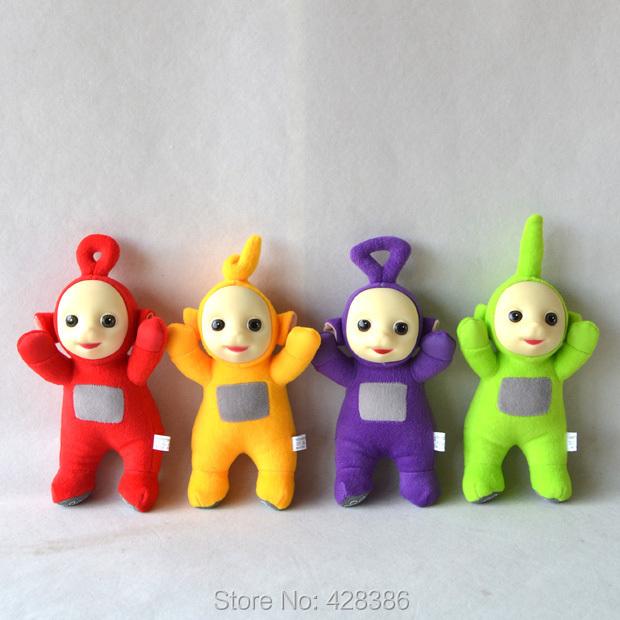 Birthday gift Plush Teletubby Dispsy Po Laa-Laa Teletubbies toys baby doll kids - Truman Hua's store
