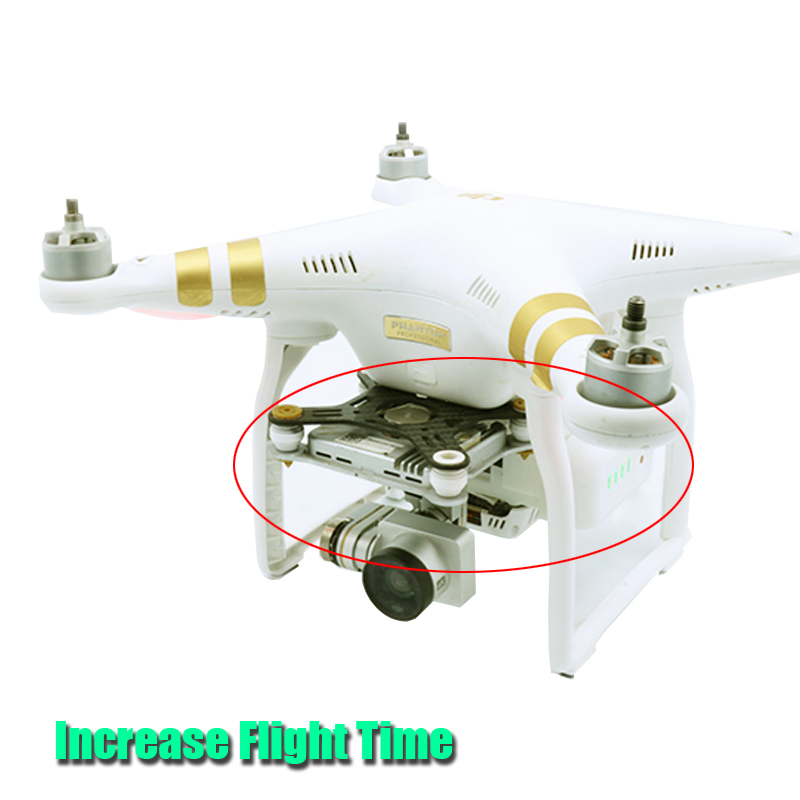 DJI Phantom 3 Battery Accessories Double Battery Placement Conversion Device for RC Drone DJI Phantom 3 Serious Free Shipping