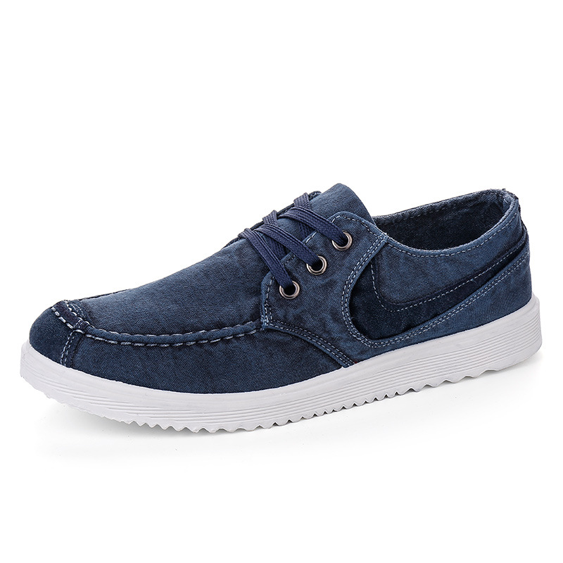 Spring Canvas Shoes Soft Shoes for Men 2016 Breathable Men Flats Shoes Casual Men Fashion Shoes Rubber Zapatos Hombre N77(China (Mainland))