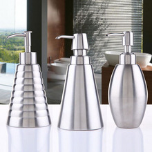 300ML Stainless steel Soap Dispenser Innovative Liquid Lotion Dispenser Infrared Bathroom Accessories(China (Mainland))