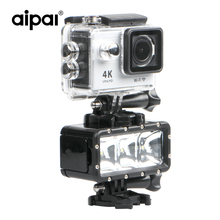 Buy 35m Waterproof High Power LED Flash Fill Light Gopro Xiaomi Yi SJCAM Aipal Action Camera Diving Accessories for $28.99 in AliExpress store