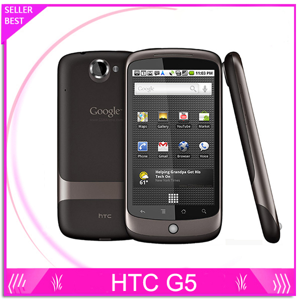 "G5 Original Unlocked HTC Google Nexus One G5 GPS Wi-Fi 5.0MP 3.7""TouchScreen 3G Cell phone Free Shipping(China (Mainland))"