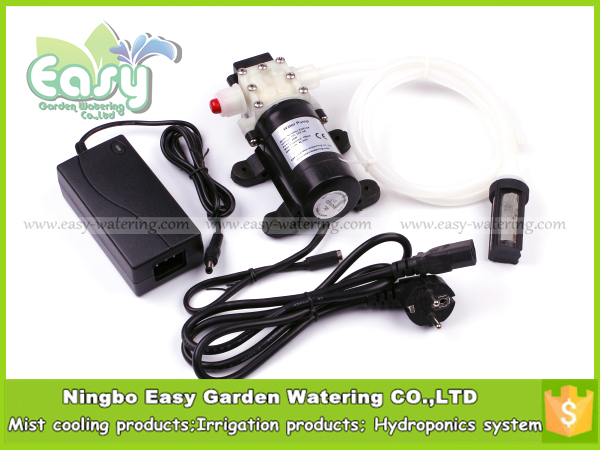 CE CERTIFIE ,DC Diaphragm Pump . 48W 12v Water pump. Silicone material inlet pipe + filter ,4L/min. FREE SHIPPING(China (Mainland))