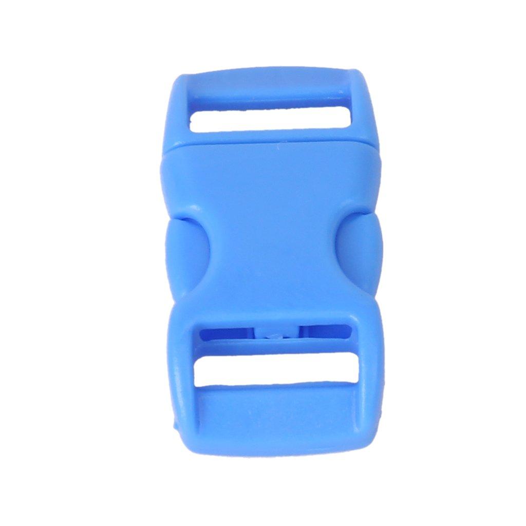 TEXU 50Pcs 3/8 Inch Side Release Plastic Buckles<br><br>Aliexpress