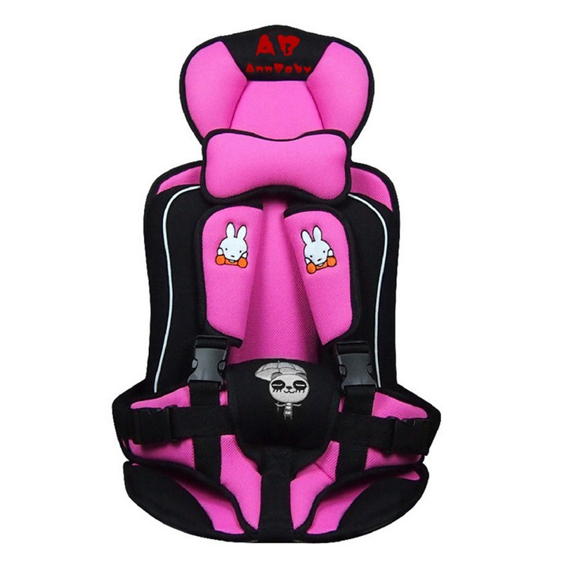 Portable baby car seat baby safety seat car seat Children's Chairs in the Car Updated Version Thickening Cotton Kids Car Seats(China (Mainland))