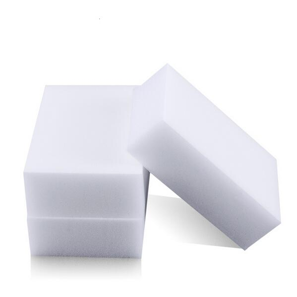 20 pcs/lot White Magic Sponge Eraser Melamine Cleaner,multi-functional Cleaning 100x60x20mm - Jesse Yue's store