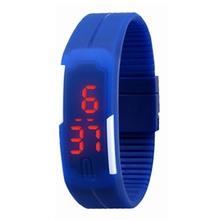 Fashion Sport LED Watches Silicone Rubber Touch Screen Digital Watches Men Women Waterproof Bracelet Wristwatch Y60