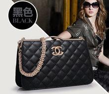 Crossbody сумки для женщин сумки женские известный дизайнерский бренд вечер люкс цепи черный кожаный мешок руки сумки