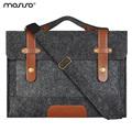 Mosiso Felt Laptop Shoulder Bag 11 6 13 3 15 6 inch Sleeve Cover Netbook Handbag