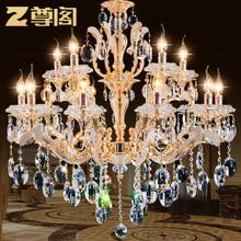 Qualität mode moderne kronleuchter kristall pendelleuchte licht kerze für zu hause, Esszimmer lampe, Foyer beleuchtung 108 versandkostenfrei(China (Mainland))
