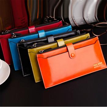 fashion colorful women wallets Luxury Ladies Zipper Purse fashion ladies multifunction wallet female long purses and handbags