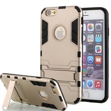 IronMan Shockproof Drop Proof Heavy Duty Rugged Armor Cover for iphone6 plus lg g4 Hybrid Impact Armor Rugged Hard Case Holder