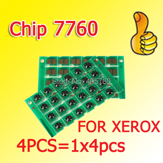 4pcs 7760 chip compatible for Xerox Phaser 7760 7760DN 7760DX 7760GX freeshipping+<br><br>Aliexpress