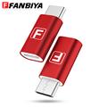 FANBIYA Mini OTG Type c Adapter Micro USB type c converter for Xiaomi 5 MI 5