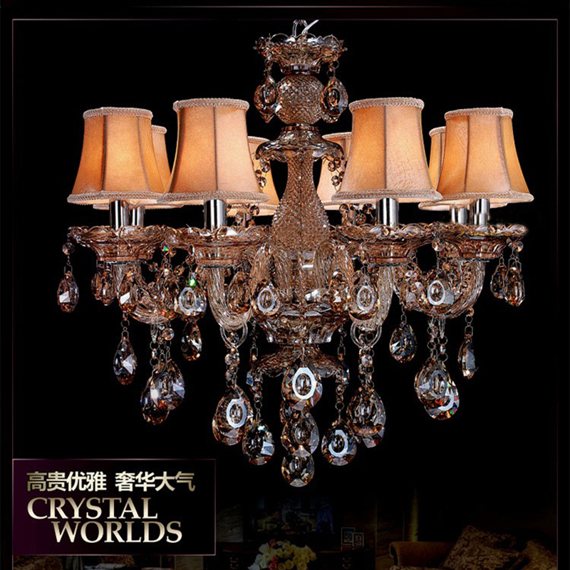 Shaded Crystal Chandelier Promotion Shop For Promotional