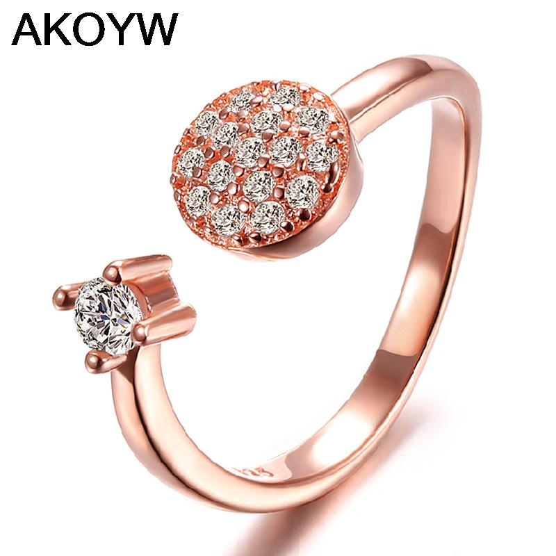 Silver plated round four claw female models cute wild fashion jewelry ring opening retro jewelry factory wholesale super flash(China (Mainland))